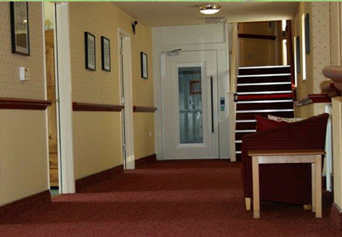 Nicely styled corridors, giving you a peaceful and relaxing environment